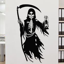 할로윈 skeleton B 해골 스티커 [중형-DIY제품]