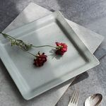 [J TABLE]딤 삼베 사각접시 대(2color)