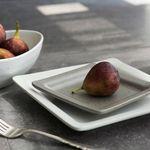 [J TABLE]딤 삼베 사각접시 소(2color)