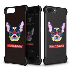 [무료배송] 아이폰8 7 플러스 프렌치불독 코너케이스