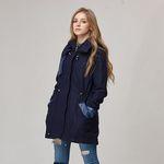 Hoodie Wool Coat