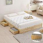 유니온 편백나무 서랍형 침대 Q 본넬매트리스
