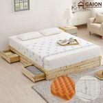 유니온 삼나무 서랍형 침대 Q 독립메모리매트리스