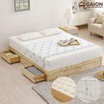 유니온 삼나무 서랍형 침대 Q 독립볼라텍스매트리스