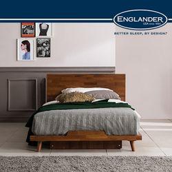 바우 멀바우 평상형 침대(DH 7존 라텍스 독립 매트SS)