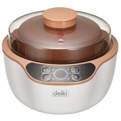 델키 DKB-120 가정용 스마트 중탕기 레시피북 포함