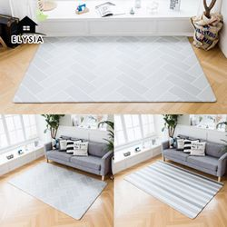 북유럽 디자인 헤이미쉬 양면 놀이방 거실매트 XL