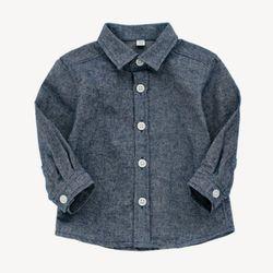 시크 데님코튼 셔츠 T163