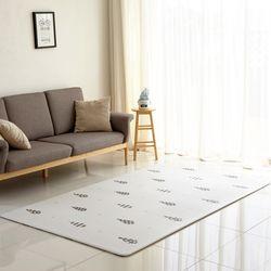 북유럽 디자인 티니트리 양면 놀이방 거실매트 M