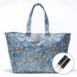 이태리 designer shopper bag Party 다크그레이