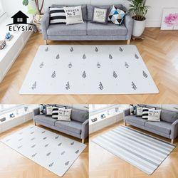 북유럽 디자인 티니트리 양면 놀이방 거실매트 XL