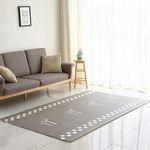 [주방매트 증정] 북유럽 디자인 모던트리 양면 놀이방 거실매트 M
