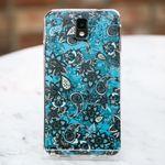 [ZenithCraft] LG Q6 페이즐리 블루 실리콘젤리