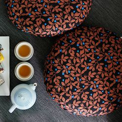 masala brown sitting cushion (커버만)