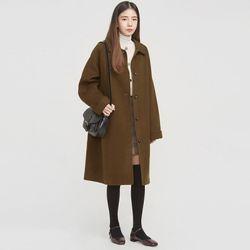 raglan simple handmade coat
