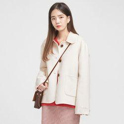 cutey snow handmade coat