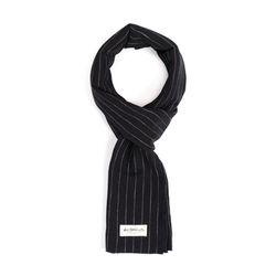 PIN STRIPE STOLE (black)