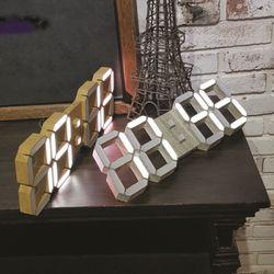 [Lunaris]루나리스 우드(Wood) 3D LED벽시계