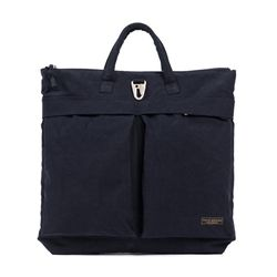 WAXED HELMET BAG (navy)