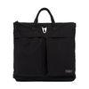 WAXED HELMET BAG (black)