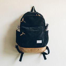 CORDUROY UMB BAG (black)