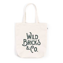 BIG LOGO ECO BAG (green)