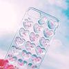 [아이폰] 하트뿅 엠보싱 핑크 젤리케이스