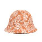 PAISLEY BUCKET HAT (orange)