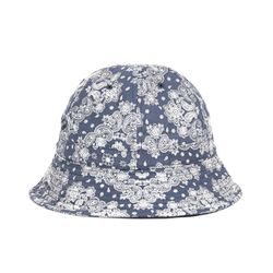 PAISLEY BUCKET HAT (navy)