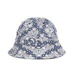 PAISLEY BUCKET HAT (navy)