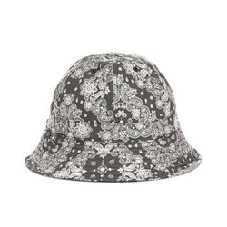 PAISLEY BUCKET HAT (black)