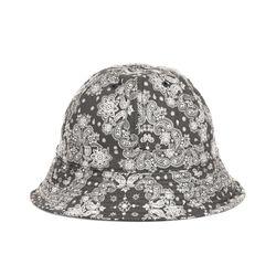 PAISLEY BUCKET HAT (black)