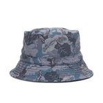 CAMO BUCKET HAT (navy)