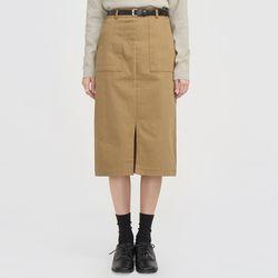 cotton belt set natural skirt