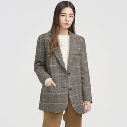 classic moments check jacket