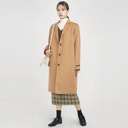 3-button single handmade coat
