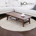 비비안 모던 선반형 접이식 테이블 1000 3color