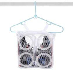 운동화 세탁 건조 손상방지 이중 세탁망 신발 세탁망
