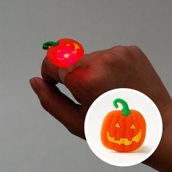 LED점등 호박반지 5개세트