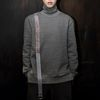 Eggshell Ring Turtleneck MTM grey