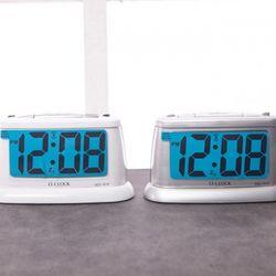 심플모던E전자 탁상(색상랜덤)시계1개