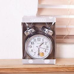 탁상벨 시계 대 (은색)시계1개