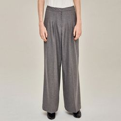 RELAXED WIDE PANTS (GRAY)