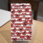 [Zenith Craft]아이폰5 하트비트 레드 다이어리케이스