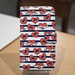 [Zenith Craft]아이폰5 하트비트 네이비 다이어리