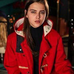 UNISEX Duffel Coat (RED)