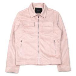 UNISEX Suede Jacket (PINK)