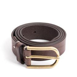 CLASSIC LEATHER BELT (vintage brown)