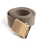 MILITARY WEBBING BELT (khaki)