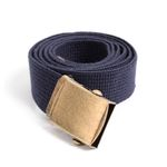 MILITARY WEBBING BELT (navy)